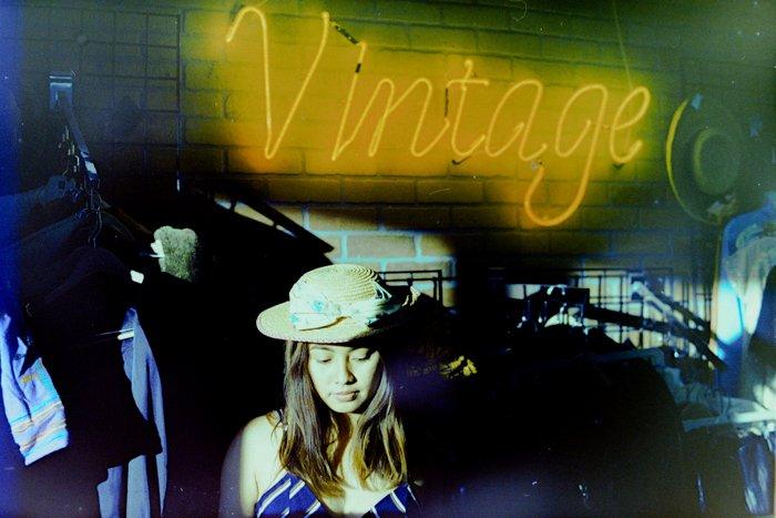 uma imagem final de uma fotografia de filme digitalizada em um scanner de filme digital