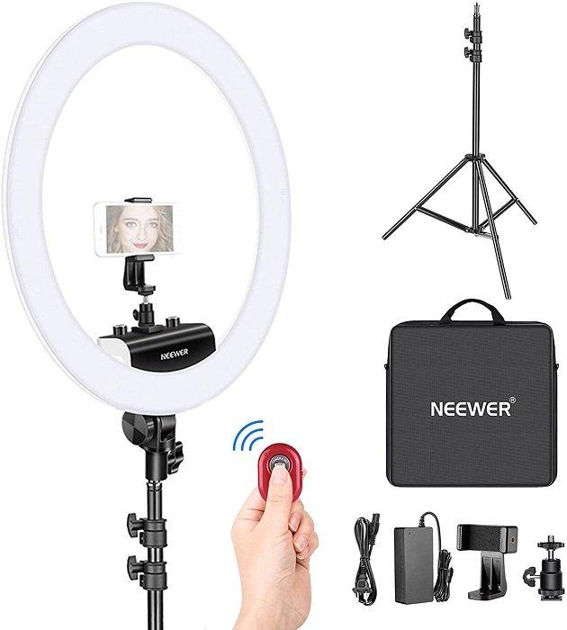 image of Neewer ring light kit