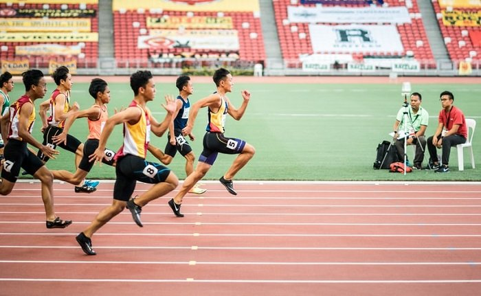 image of a track event
