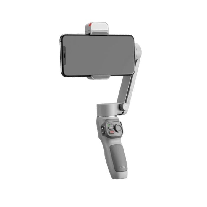 Zhiyun Smooth Q3 holding a large smartphone