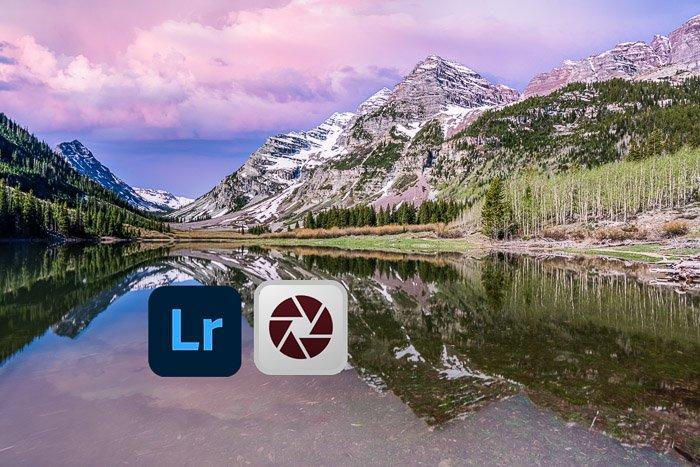 Mountain sunset Lightroom Camera Raw Icons