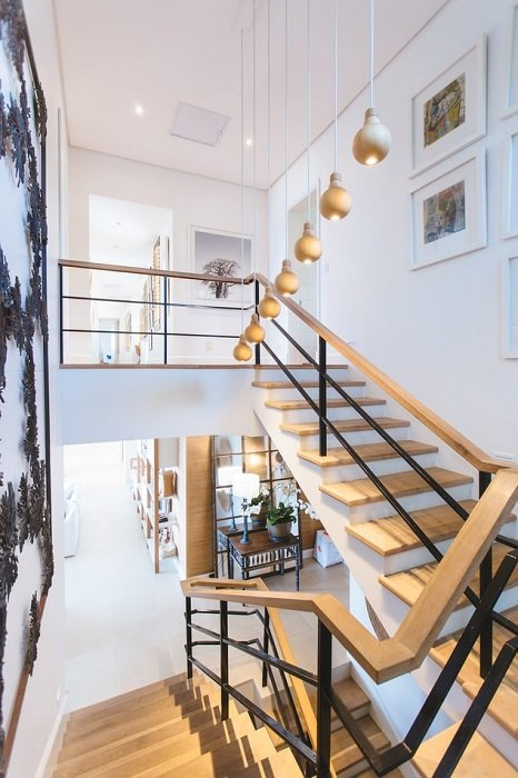 real estate image of staircase