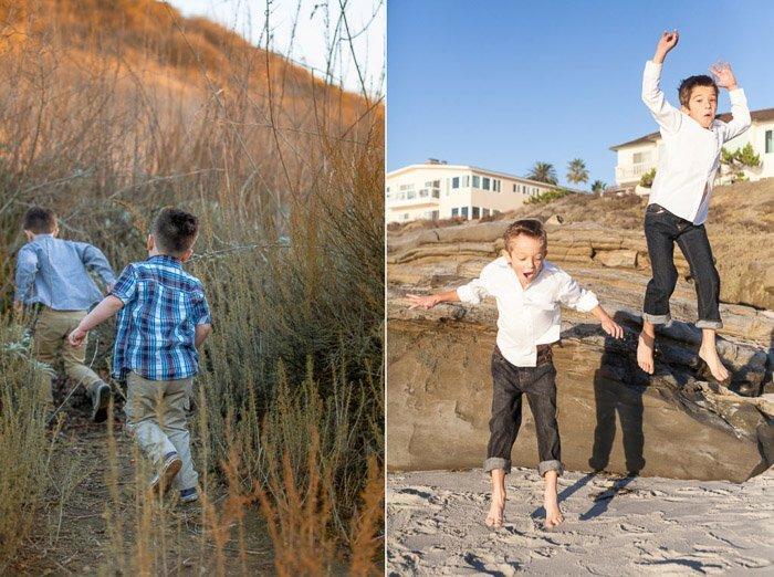 examples of capturing children's energy through body language
