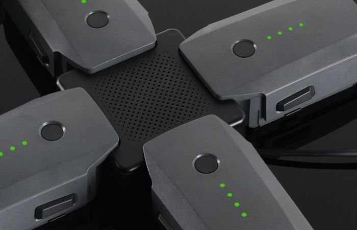 several drones connected to each other