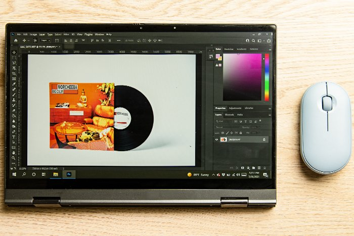 Photoshop interface shown on a computer screen