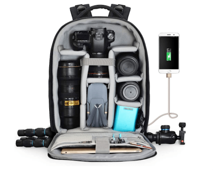 an image of a CADeN Camera Backpack