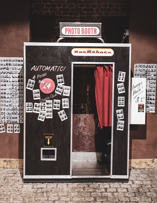 an image of a classic photo booth