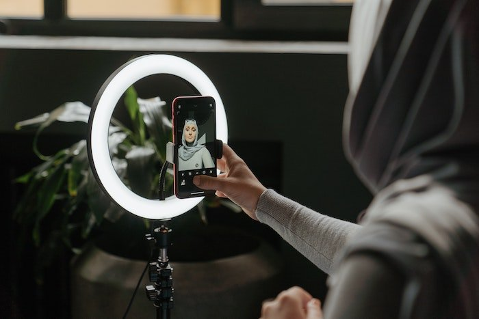 an image of a selfie station