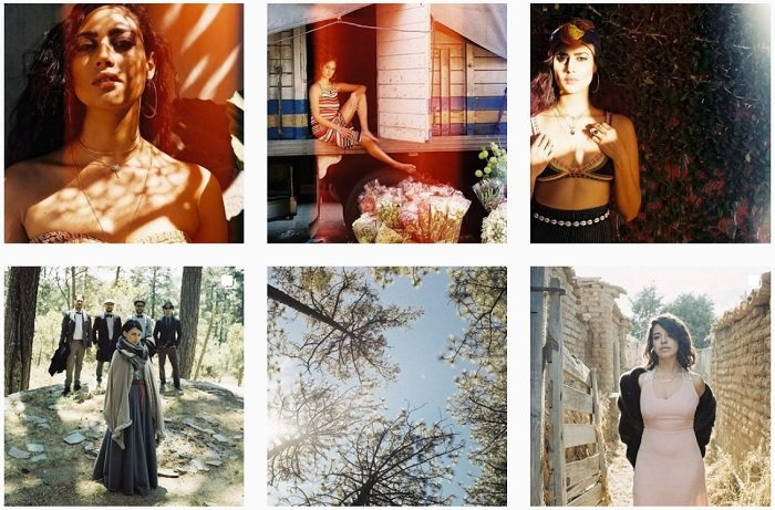 example images of Ana Topoleanu's film photography portfolio