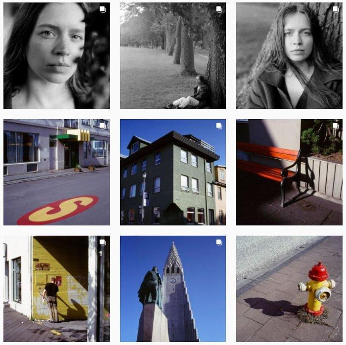 examples of Dan Rubin's film photography