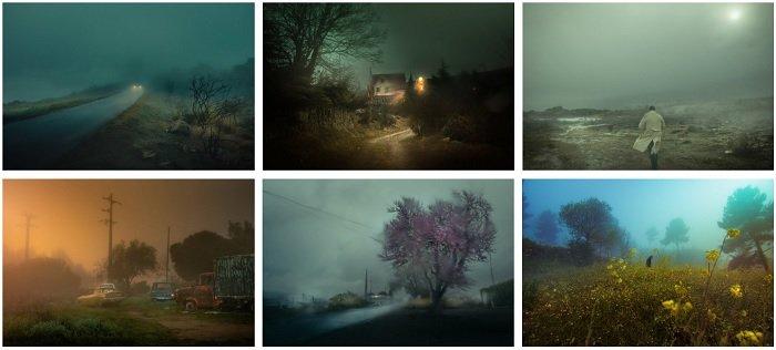 examples of Henri Prestes' film photography portfolio