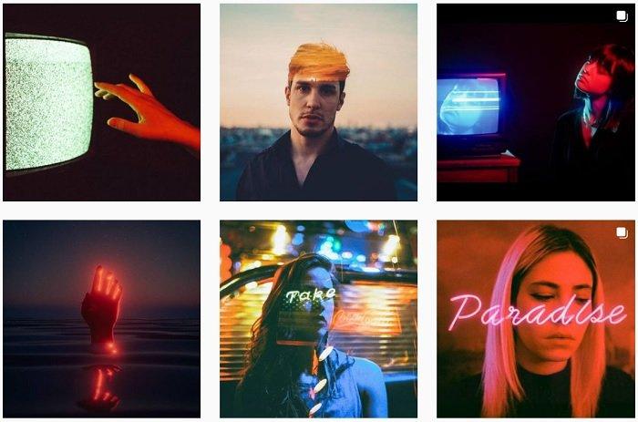 example images of Louis Dazy's film photography portfolio