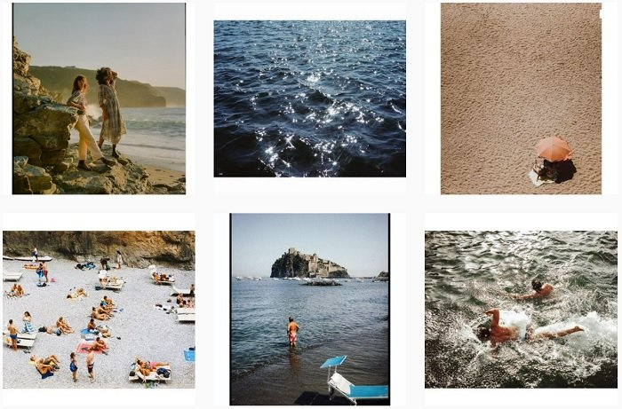 examples of Lucy Laucht's film photography portfolio