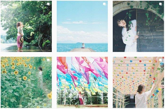 example images of Masa Nishiyama's film photography portfolio