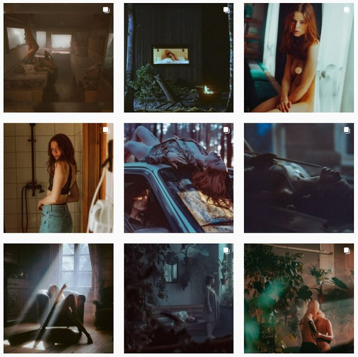 example images of Mateusz Zurowski's film photography portfolio
