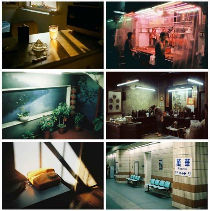 examples of Patrick Clelland's film photography portfolio