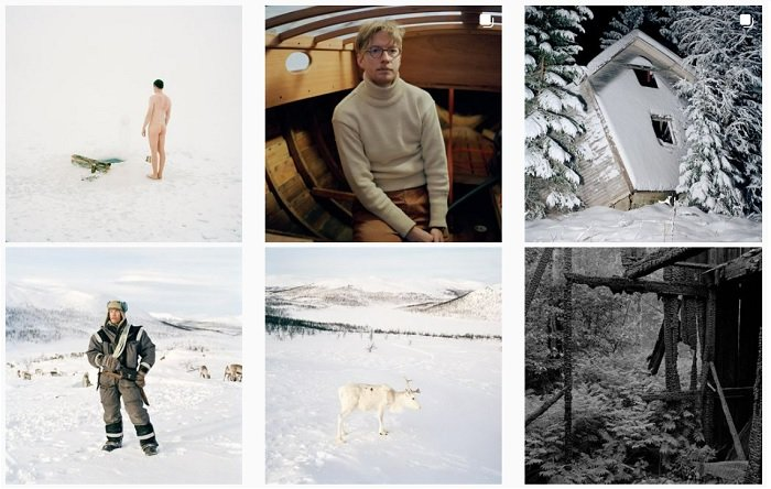 example images of Peter Holliday's film photography portfolio