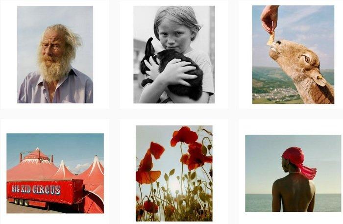 example images of Rhiannon Adam's film photography portfolio