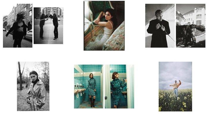 examples of Tom Mitchell's film photography portfolio