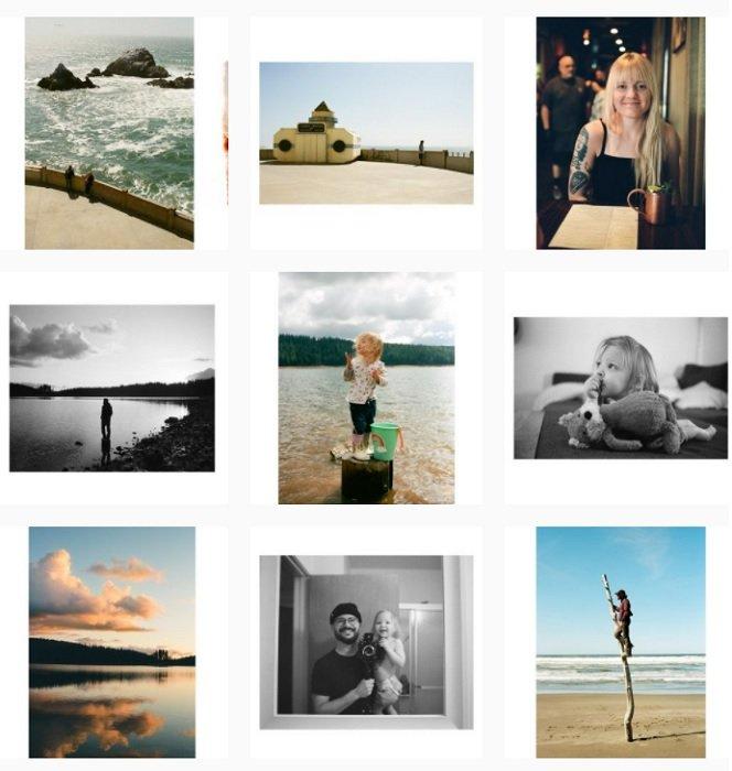 examples of Trev Lee's film photography portfolio