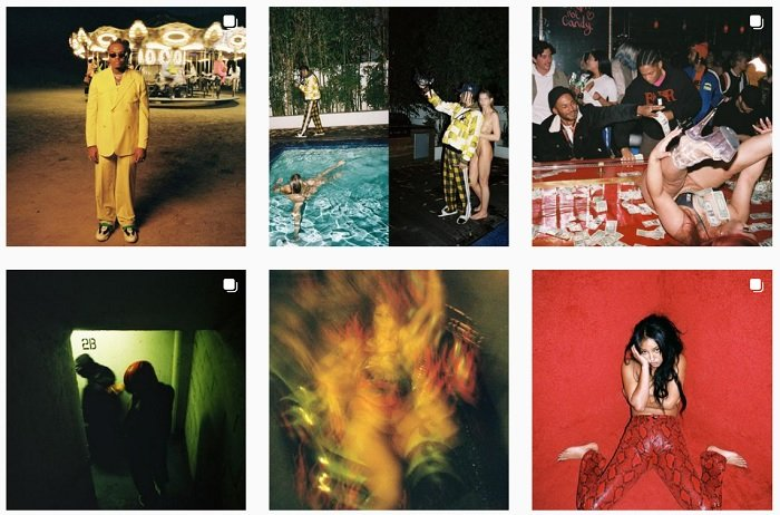 example images of Zhamak Fullad's film photography portfolio