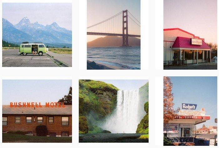 example images of Paul Bundy's film photography portfolio