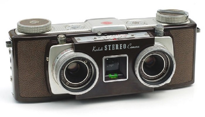 Kodak Stereo Camera for 3D photography