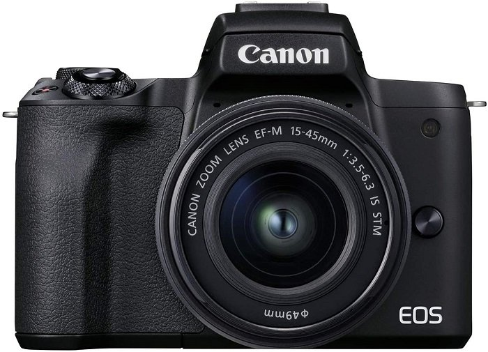 best mirrorless camera for travel 2021 Canon EOS M50 Mark II