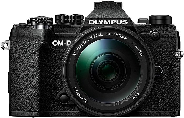 best mirrorless cameras for travel 2021 enthusiast Olympus OM-D E-M5 Mark III