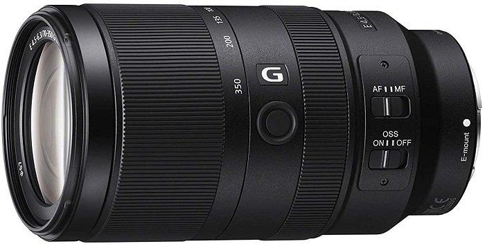 Sony 70-350mm telephoto lens