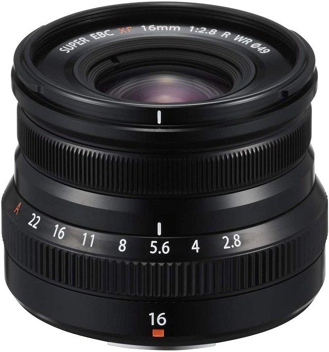 富士农XF 16mm f/2.8 R WR主镜头-最佳富士胶片X安装镜头
