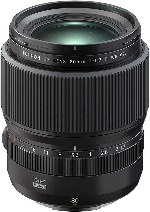 富士侬GF 80mm f/1.7 R WR定焦镜头-最好的富士GFX镜头