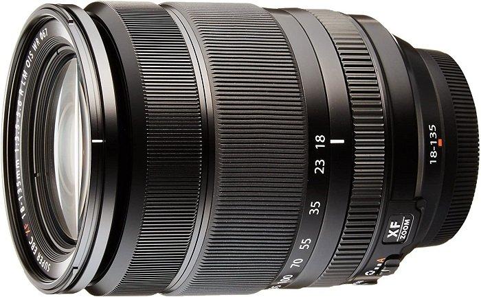 Fujinon XF18 135mm F / 3.5-5.6 R LM OIS WR  - 最佳富士缩放镜头