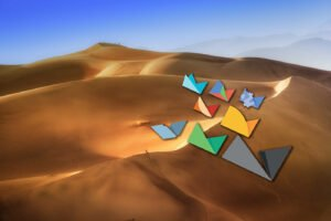 Sand dunes Nik collection icons