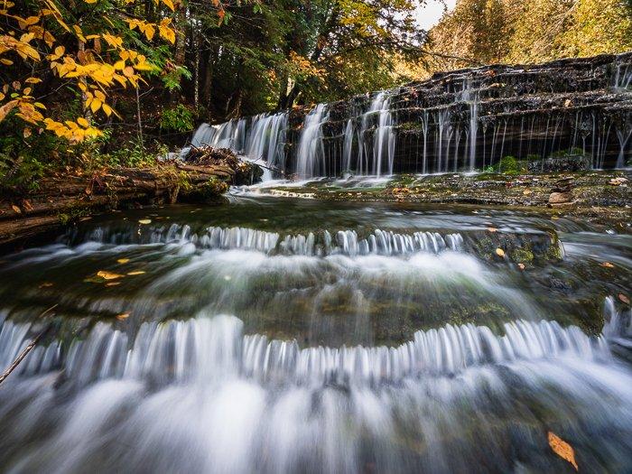 waterfall 4:3 aspect ratio