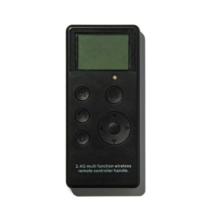 A radio camera remote control
