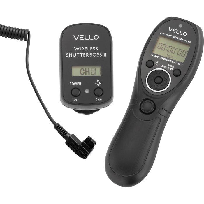 Vello Shutter Boss remote control for cameras