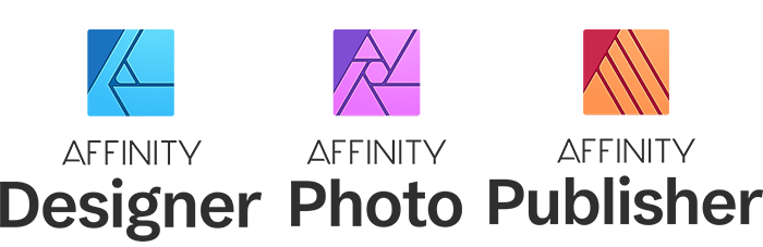 Affinity Packages Logos