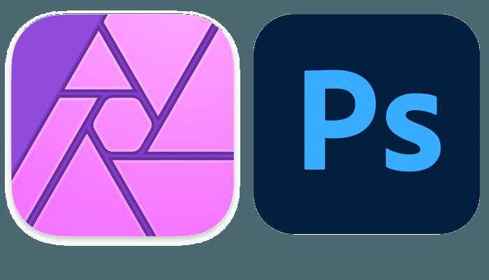 Affinity vs Photoshop Logos