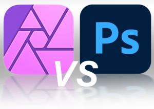 Affinity V Photoshop Logos