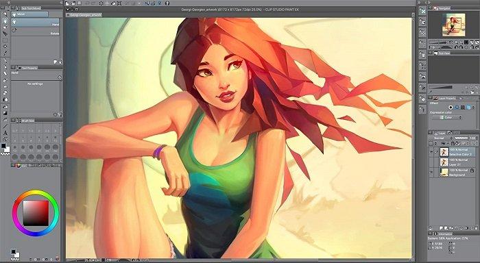 Clip Studio Paint Pro screenshot