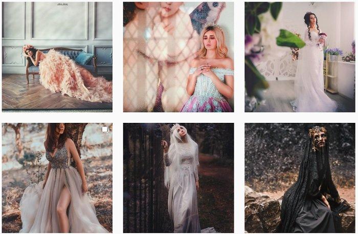 Alice Alinari Instagram Collection of fantasy photographs