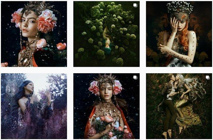 Bella Kotak instagram Collection of fantasy photographs