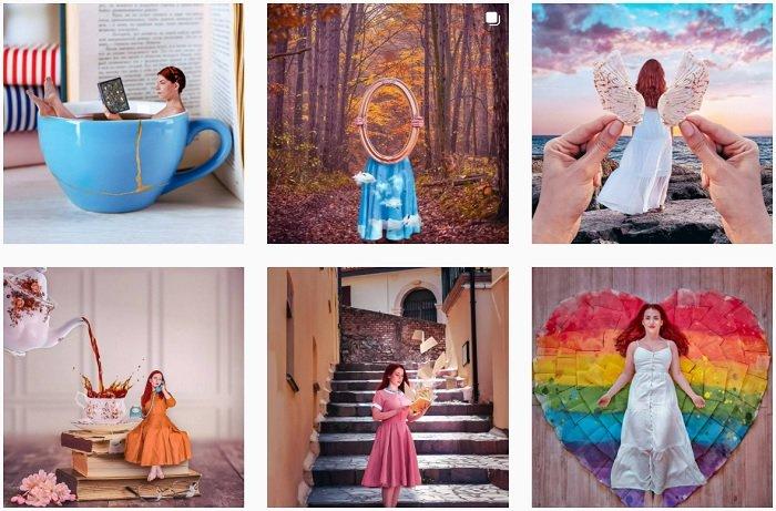 Fabiola Instagram Collection of fantasy photographs