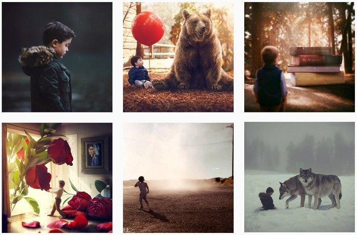 Gabe Tomoiaga Instagram Collection of fantasy photographs