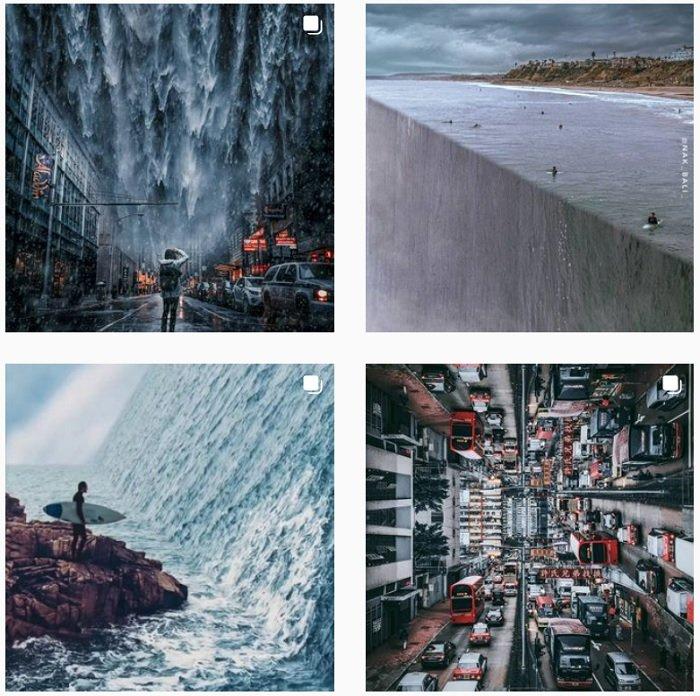 Herri Susanto Instagram Collection of fantasy photographs