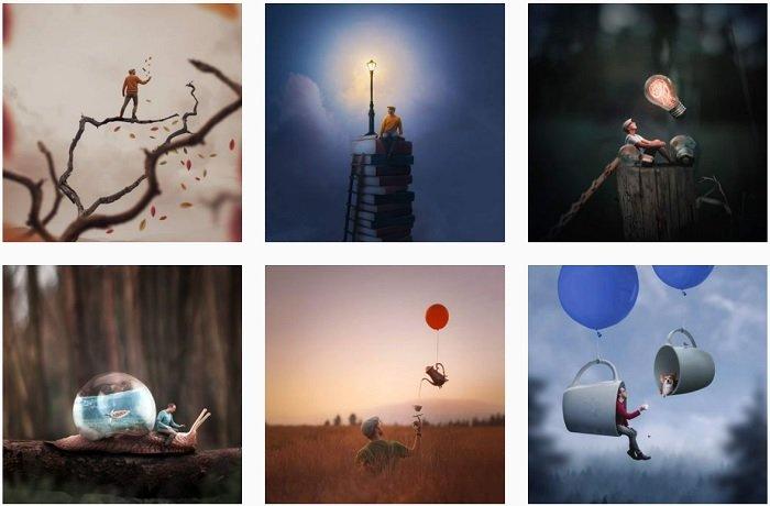 Joel Robison instagram Collection of fantasy photographs