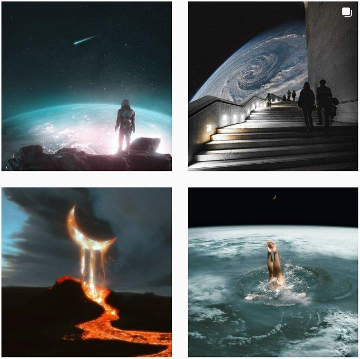 Julian Majin Instagram Collection of fantasy photographs