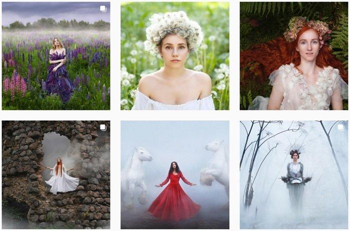 Katerina Plotnikova Instagram Collection of fantasy photographs