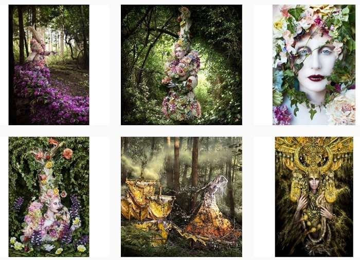Kirsty Mitchell Instagram Collection of fantasy photographs
